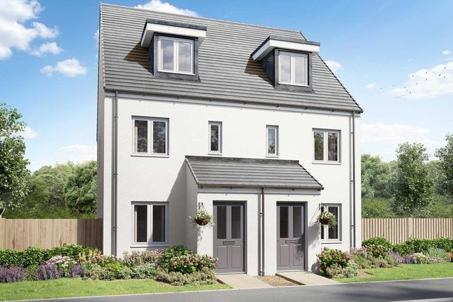 """Thumbnail Terraced house for sale in """"The Souter"""" at Carlton Way, Liskeard"""