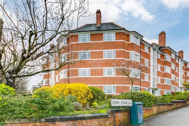 Thumbnail flat for sale in deanhill court upper richmond road west london