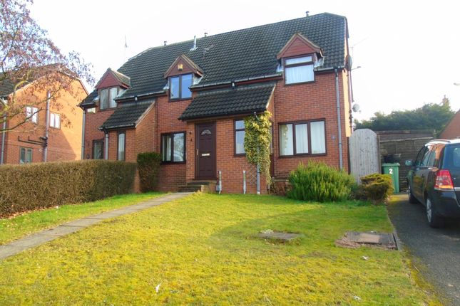 Thumbnail Terraced house to rent in The Pemberton, Broadmeadows, South Normanton, Alfreton