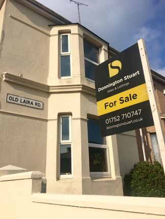 Thumbnail End terrace house for sale in Old Laira Road, Laira, Plymouth