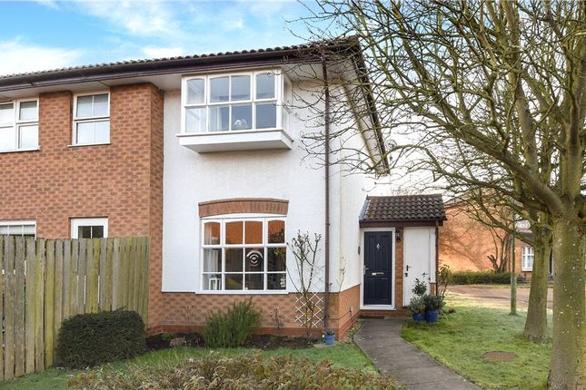 1 bed end terrace house for sale in Harvard Close, Woodley, Reading