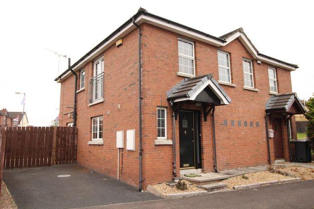 Thumbnail Semi-detached house for sale in Larksborough Close, Newtownards