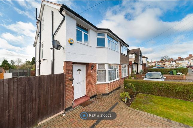 Thumbnail Semi-detached house to rent in Woodlands Avenue, Ruislip
