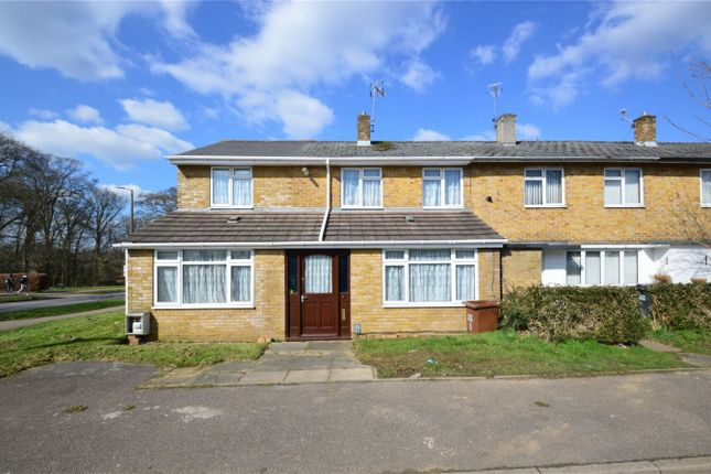 Thumbnail End terrace house for sale in Hill Ley, Hatfield, Hertfordshire