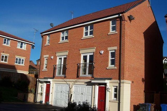 Thumbnail Town house to rent in Badgerdale Way, Heatherton Village
