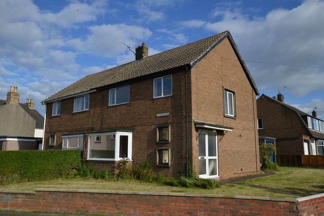 Thumbnail Semi-detached house for sale in Osborne Road, Tweedmouth, Berwick Upon Tweed, Northumberland