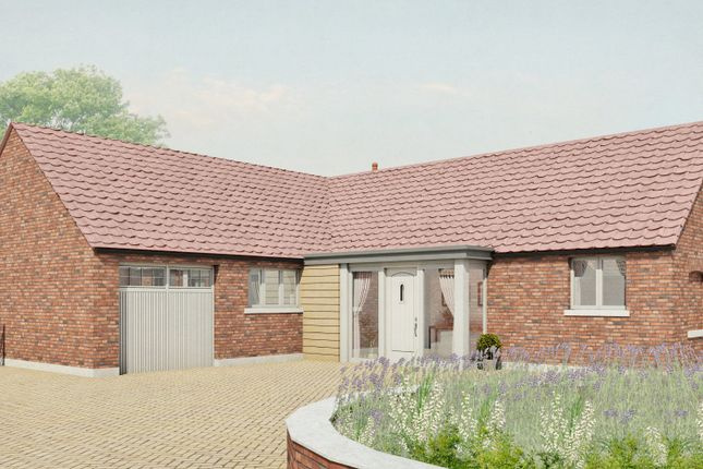 Thumbnail Detached bungalow for sale in Plot 1, Old Hall Gardens, Screveton