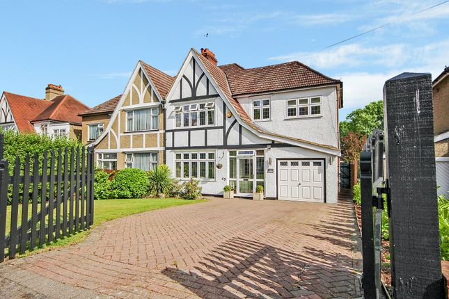 Thumbnail Semi-detached house for sale in Beechwood Avenue, Coulsdon