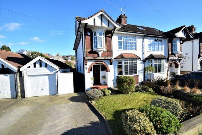 Thumbnail Semi-detached house for sale in Downs Cote Avenue, Westbury-On-Trym, Bristol