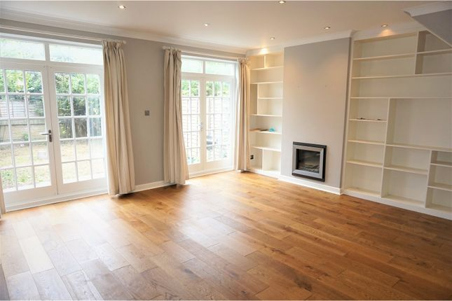 Thumbnail End terrace house to rent in Spenser Mews, London