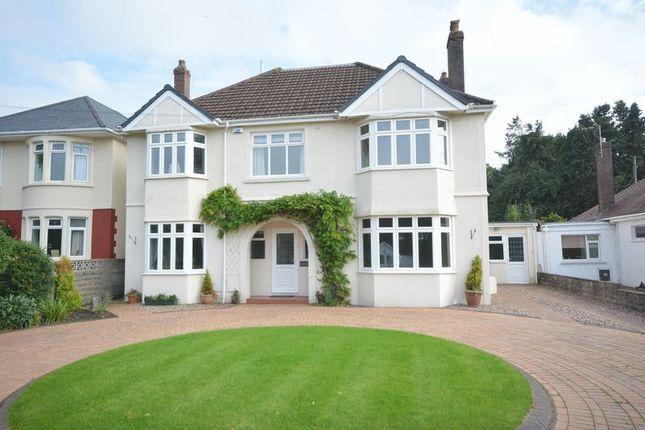 Thumbnail Detached house for sale in 115 Merthyr Mawr Road, Bridgend