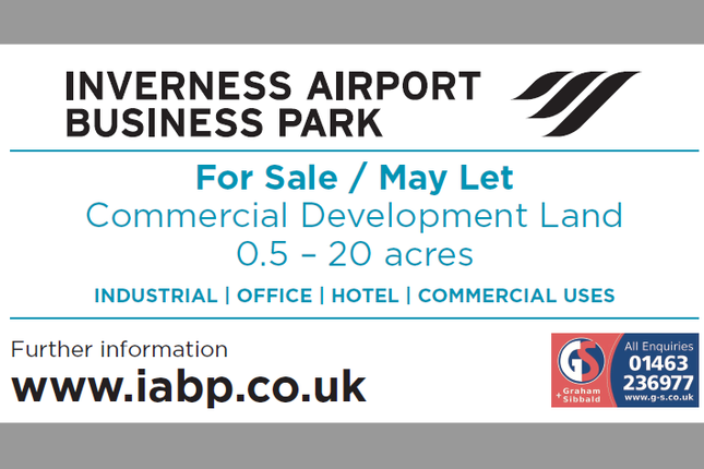 Thumbnail Land to let in Inverness Airport Business Park (Iabp), Dalcross, Inverness