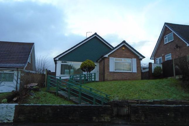 Thumbnail Detached bungalow to rent in Walshaw Road, Bury