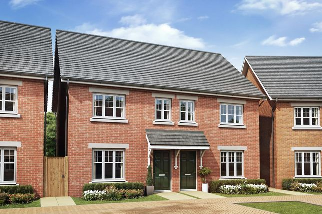 """Thumbnail Semi-detached house for sale in """"Finchley"""" at Greenkeepers Road, Biddenham, Bedford"""