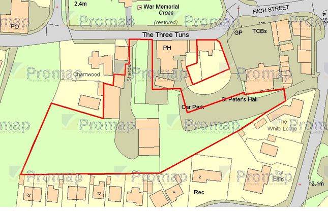 Thumbnail Land for sale in High Street, Ingoldmells