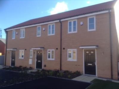 Thumbnail Terraced house to rent in Fieldfare Gardens, Gusborough