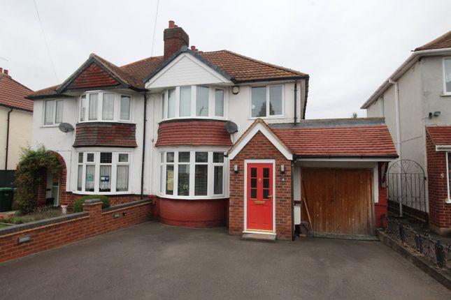 Thumbnail Semi-detached house for sale in Oak Crescent, Tividale, Oldbury, West Midlands
