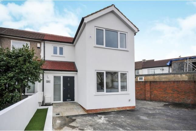 Thumbnail End terrace house for sale in Marden Crescent, Croydon