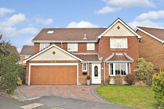 Thumbnail Detached house for sale in Olympic Way, Fair Oak, Eastleigh