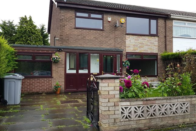 Thumbnail Semi-detached house to rent in Redwood, Sale, Cheshire