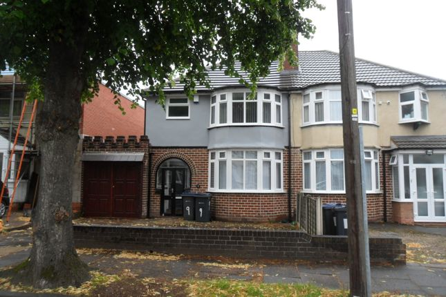 Thumbnail Semi-detached house to rent in Dewsbury Grove, Perry Barr