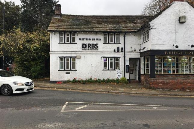 Thumbnail Retail premises to let in Former Rbs, The Village, Prestbury, Macclesfield, Cheshire, UK