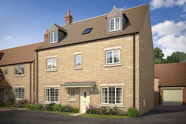 "Thumbnail Detached house for sale in ""The Lambourne_Meadows"" at Todenham Road, Moreton-In-Marsh"