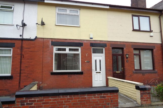 Thumbnail Terraced house to rent in Lowton Street, Radcliffe, Manchester