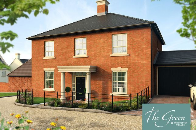 """Thumbnail Detached house for sale in """"The Annesley @ The Green"""" at Pitt Road, Winchester"""