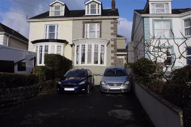 Thumbnail Semi-detached house for sale in Wellfield Road, Carmarthen
