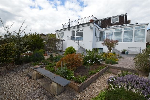 Thumbnail Detached bungalow for sale in Higher Holcombe Drive, Teignmouth, Devon.