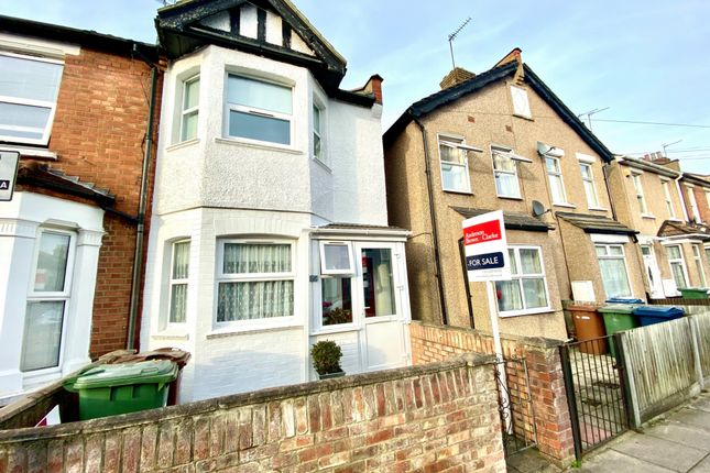 Thumbnail End terrace house for sale in Graham Road, Wealdstone