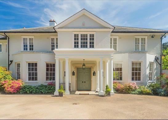 Thumbnail Detached house for sale in Titlarks Hill, Sunningdale, Berkshire