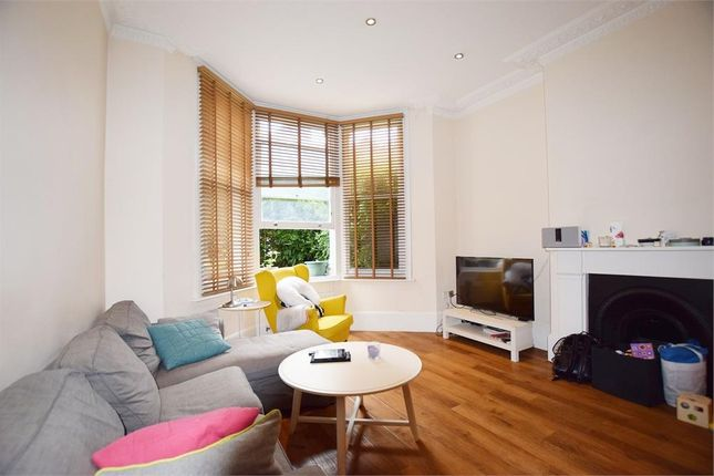 Thumbnail Flat to rent in Hemstal Road, West Hampstead, London
