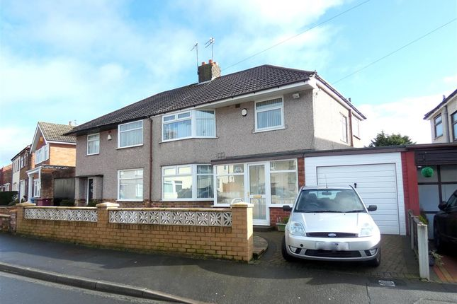 Thumbnail Semi-detached house for sale in Charlwood Avenue, Huyton, Liverpool