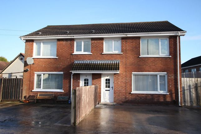 Thumbnail Semi-detached house to rent in Blacks Road, Dunmurry, Belfast