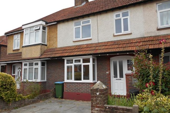 Thumbnail Terraced house to rent in Bedford Avenue, Bognor Regis, West Sussex PO215Aw
