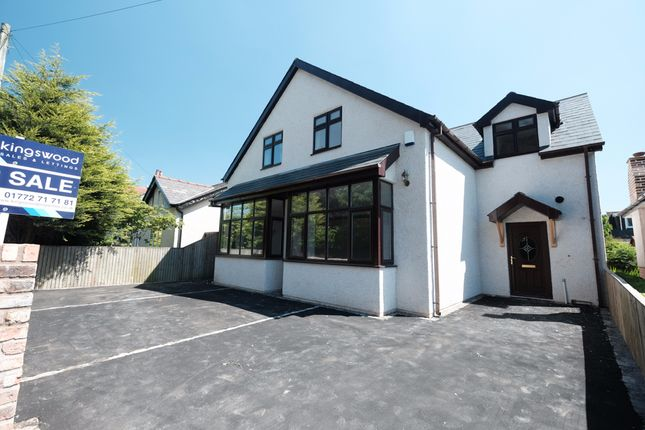 Thumbnail Detached house for sale in Black Bull Lane, Fulwood, Preston