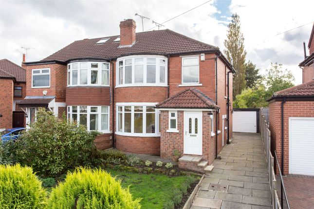 Thumbnail Semi-detached house for sale in Kedleston Road, Leeds, West Yorkshire
