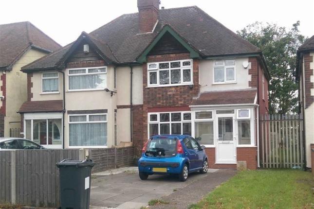 Thumbnail Semi-detached house to rent in Alum Rock Road, Birmingham
