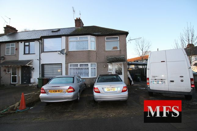 Terraced house for sale in Hiill Crescent, Harrow