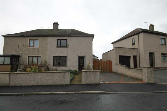 Thumbnail Semi-detached house for sale in Hall Crescent, Macduff, Aberdeenshire