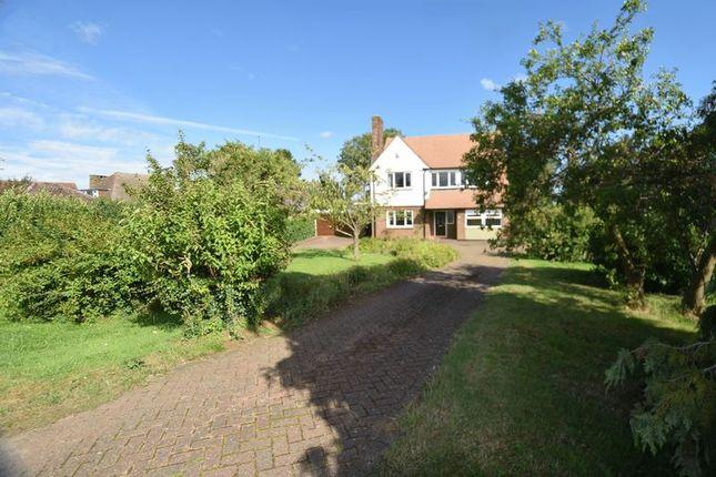 Thumbnail Detached house to rent in Leighton Road, Toddington, Dunstable