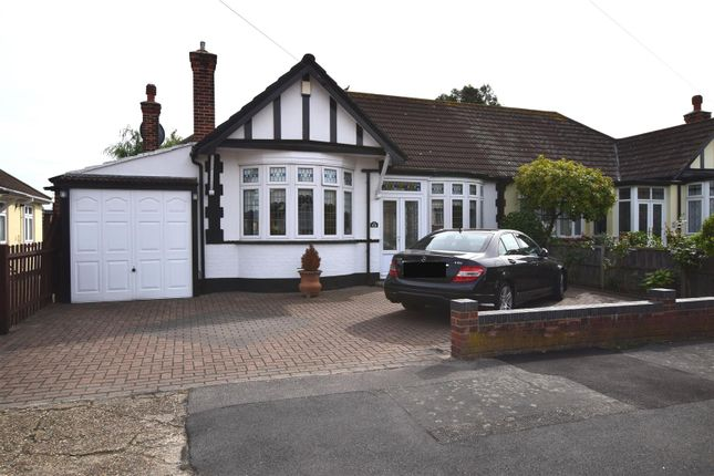 Thumbnail Semi-detached bungalow for sale in Portland Gardens, Chadwell Heath, Romford