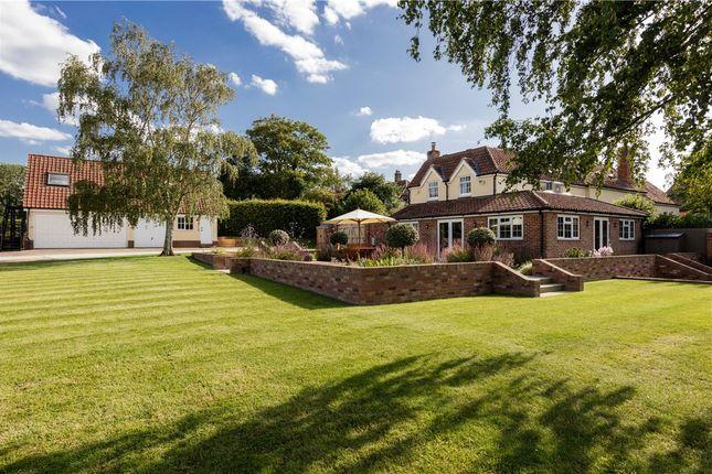 Thumbnail Detached house for sale in Church Street, Gestingthorpe, Suffolk