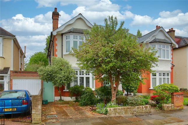 Thumbnail Semi-detached house to rent in King Edwards Grove, Teddington