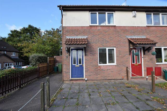 Thumbnail End terrace house to rent in Cae'r Gerddi, Church Village, Pontypridd