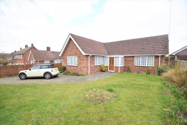 Thumbnail Detached bungalow for sale in Hervey Road, Bury St. Edmunds