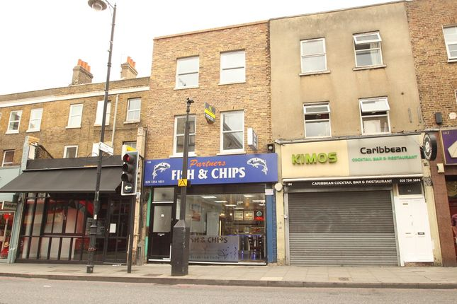 Thumbnail Flat to rent in Stoke Newington High Street, London