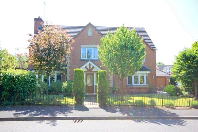 Thumbnail Detached house for sale in The Meadows, Hilderstone, Stone